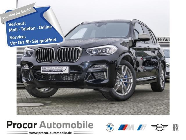 BMW X3 M40d DA+ HuD LED Standh. Panorama AHK M Sport, Jahr 2020, Diesel