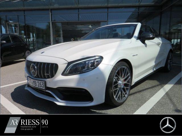 Mercedes-Benz C 63 S Cabrio 360° MULTIB S COMAND DiversP PerfA, Jahr 2020, Benzin