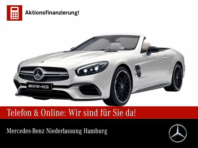 "Mercedes-Benz SL 63 AMG Fahrassistenz Pano Night Burmester 20"", Jahr 2017, petrol"