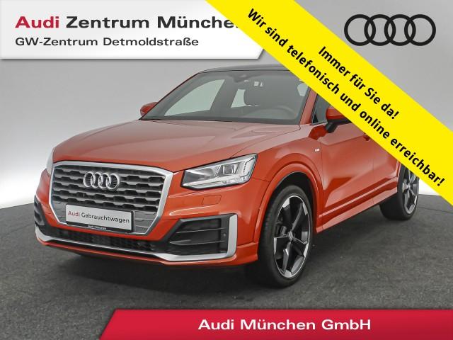 "Audi Q2 1.4 TFSI Sport S line AHK Pano Virtual LED Navi Assistenz 19"" S tronic, Jahr 2017, petrol"