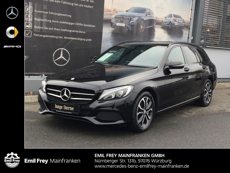 Mercedes-Benz C 350 e T 7G Avantgarde**Plug In Hybrid**, Jahr 2016, Hybrid