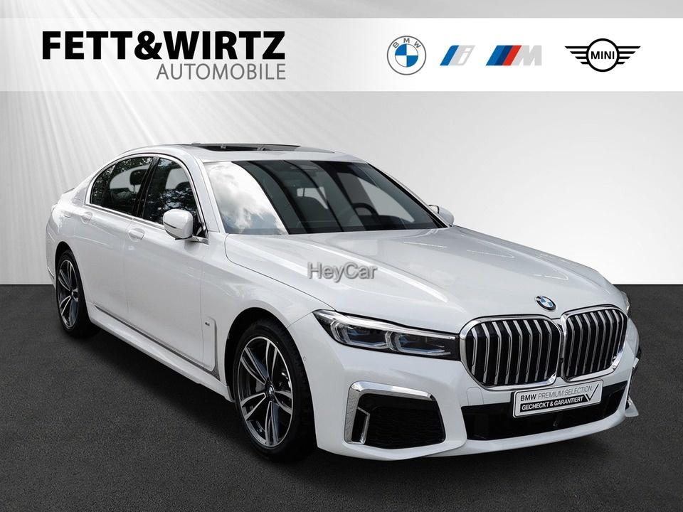 BMW 745e M Sport HUD Massage Leas. ab 1.025,- broAnz, Jahr 2020, Hybrid