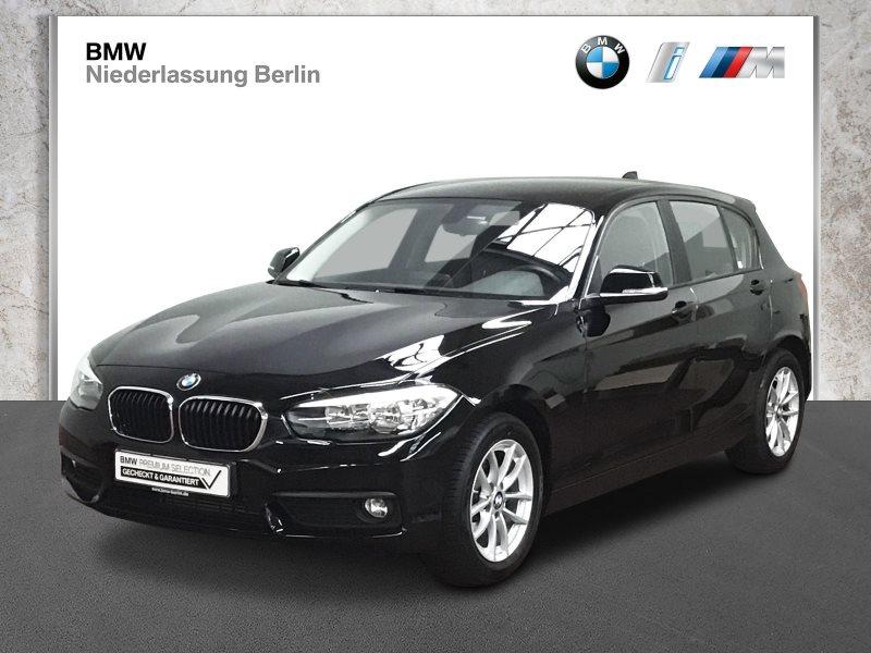 BMW 118i 5-Türer EU6d-Temp Aut. Navi PDC Alu Alarm, Jahr 2018, Benzin