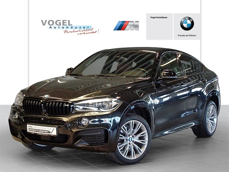 BMW X6 xDrive40d M Sportpaket Euro 6 Navi Prof Head-Up Display RFK PDC Driving Assistant Plus Klima Sitzheizung LED Speed Limit Info, Jahr 2016, Diesel