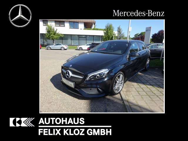 Mercedes-Benz A 200 AMG Exclusiv COMAND LED LEDER, Jahr 2016, Benzin