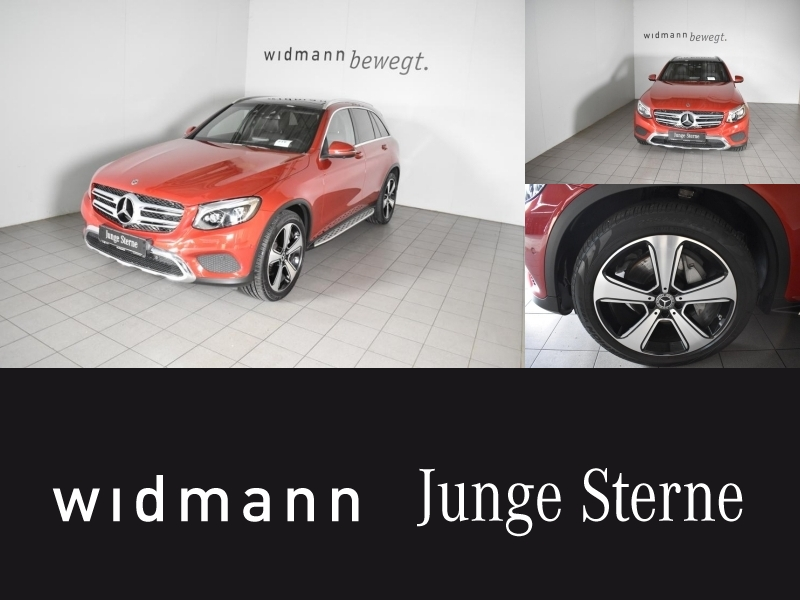 Mercedes-Benz GLC 350 d 4M *360-Kamera*HUD*Panorama*LED*AHK*, Jahr 2017, diesel