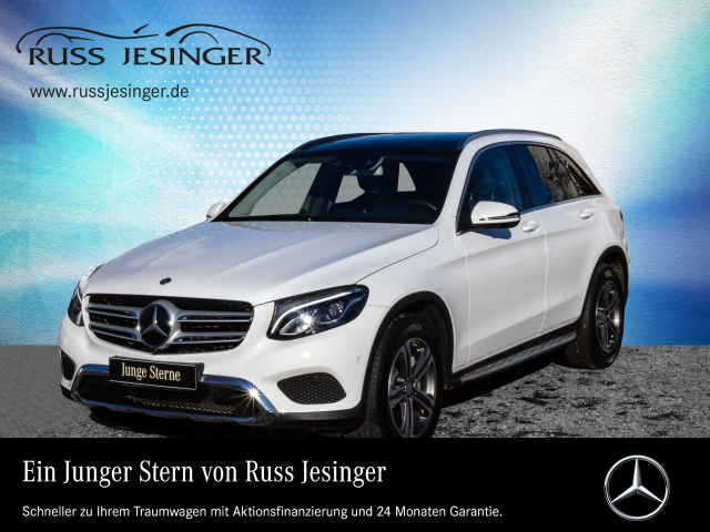 Mercedes-Benz GLC 250 d 4M EXCLUSIVE +DISTRONIC+PANO+360°+ LED, Jahr 2016, Diesel