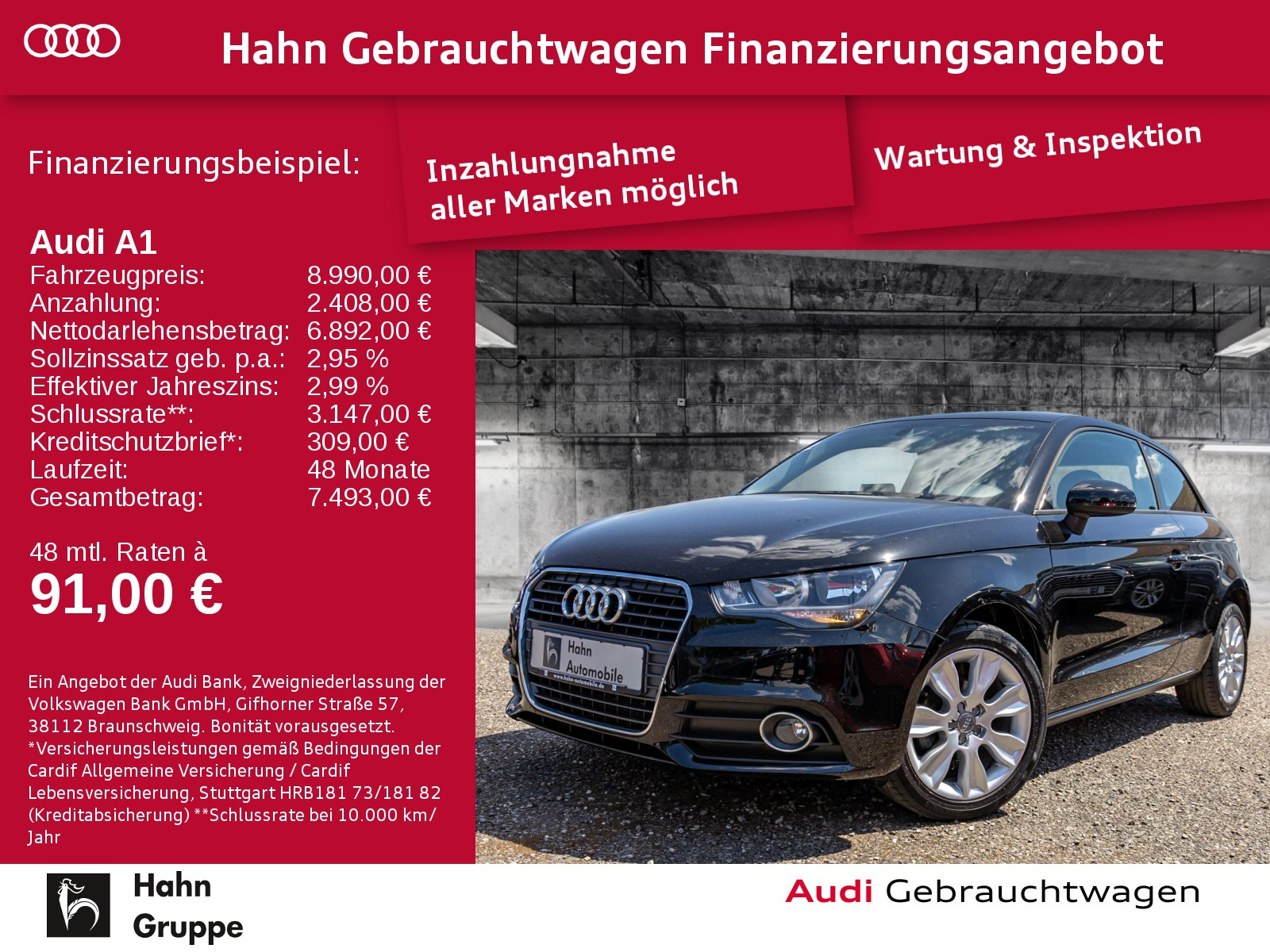 Audi A1 1.2TFSI Ambit Klima Radio MFA, Jahr 2014, Benzin