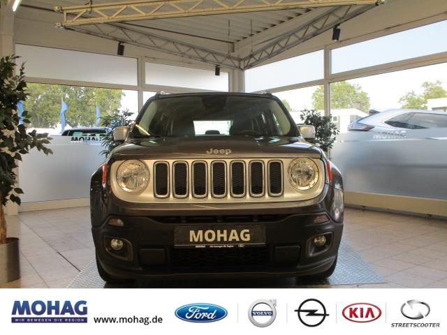 Jeep Renegade Limited FWD 1.4l MultiAir *Klima-Navi* -Euro 6-, Jahr 2016, Benzin