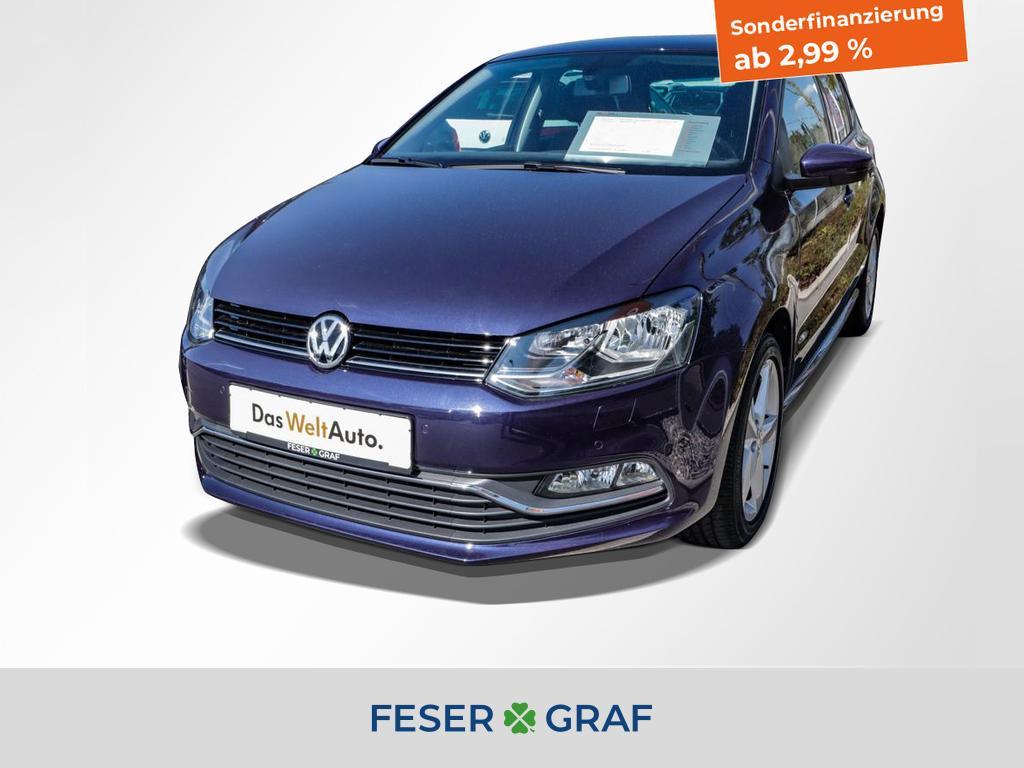 Volkswagen Polo 1.2 TSI Allstar Navigation / Clima/ Sitzhei, Jahr 2017, Benzin