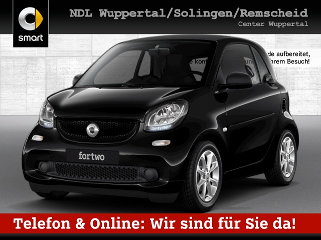 smart fortwo coupé 66kW passion DCT cool&Media Komfort, Jahr 2019, Benzin