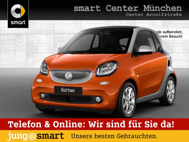 smart fortwo coupé 60kWed passion cool&Audio SHZ Pano, Jahr 2017, Elektro