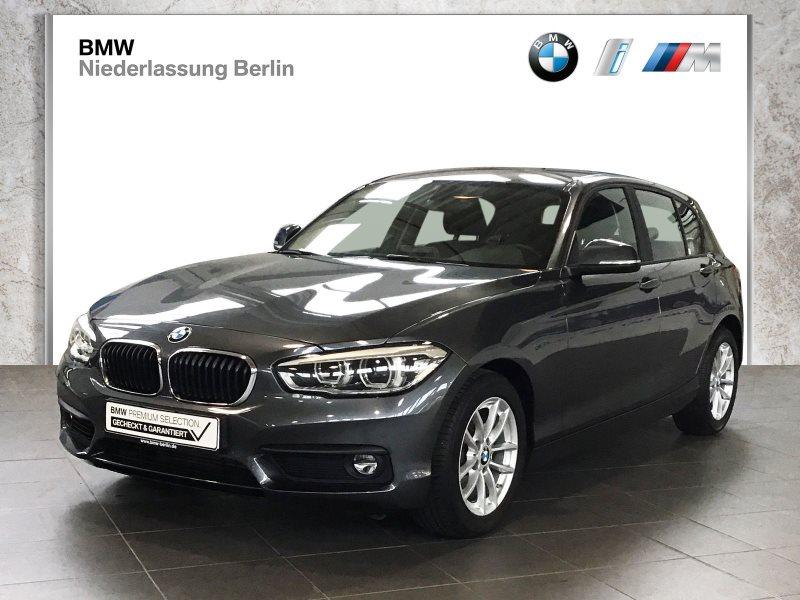 BMW 118i 5-Türer EU6 Aut. LED Navi Servotronic PDC, Jahr 2018, Benzin