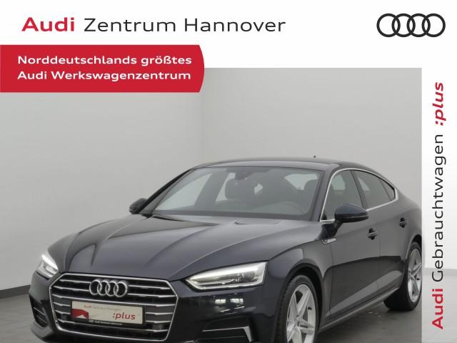 Audi A5 Sportback 2.0 TDI Sport, virtual, Teilleder, Kamera, Xenon, Jahr 2017, Diesel