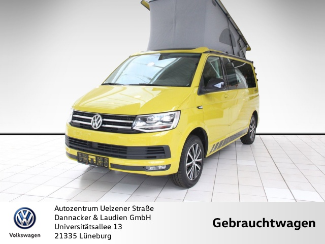 Volkswagen T6 California Beach Edition Alu Klima Standheizung, Jahr 2019, Diesel