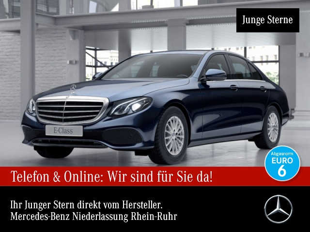 Mercedes-Benz E 200 COMAND LED Kamera PTS 9G Sitzh Temp, Jahr 2017, Benzin