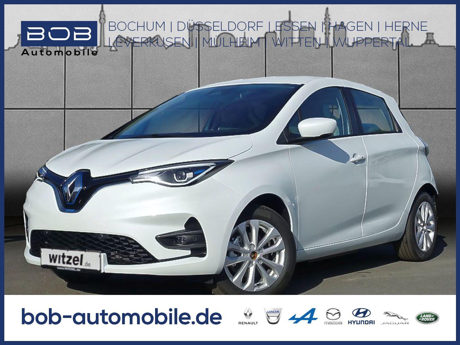 Renault ZOE EXPERIENCE Batteriemiete R135 Z.E. 50 NAVI, Jahr 2019, Elektro