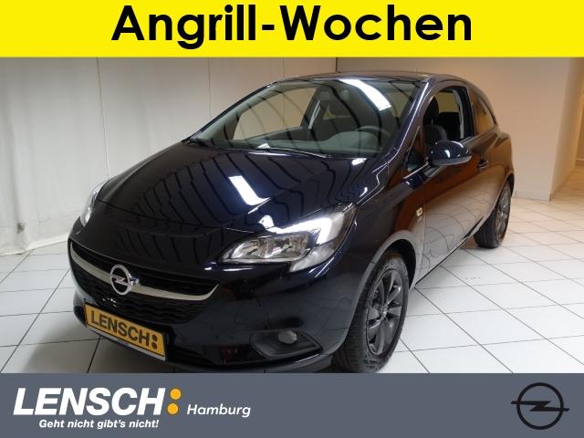 Opel Corsa E 1.4 3T 120 Jahre SITHZG+LENKRADHZG+PDC, Jahr 2019, Benzin
