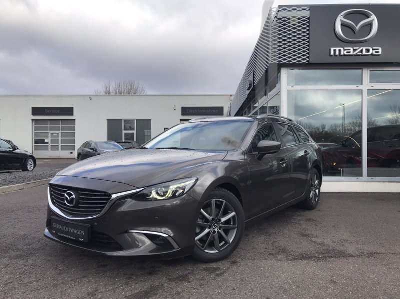 Mazda 6 2.2 SKYACTIV-D 150 FWD NAKAMA NAVI/WR/KAMERA/BOSE, Jahr 2017, Diesel