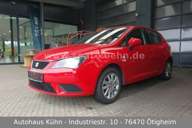 Seat Ibiza 1.4 Style Viva *scheckheft*8-fach*uvm., Jahr 2012, Benzin