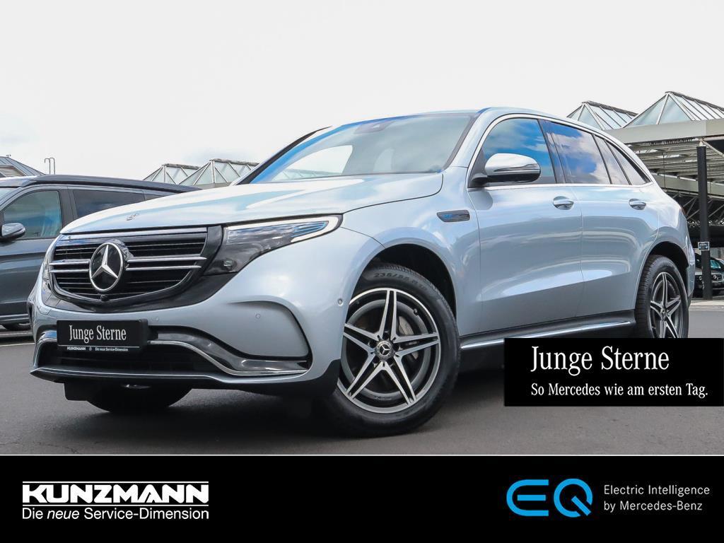 Mercedes-Benz EQC 400 4M AMG MBUX Navi LED 360°-Kamera ParkP., Jahr 2020, Elektro