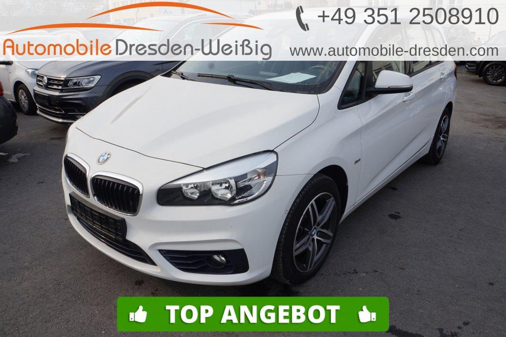 BMW 218 Gran Tourer d Sport Line*Navi*Pano*PDC*17, Jahr 2016, Diesel