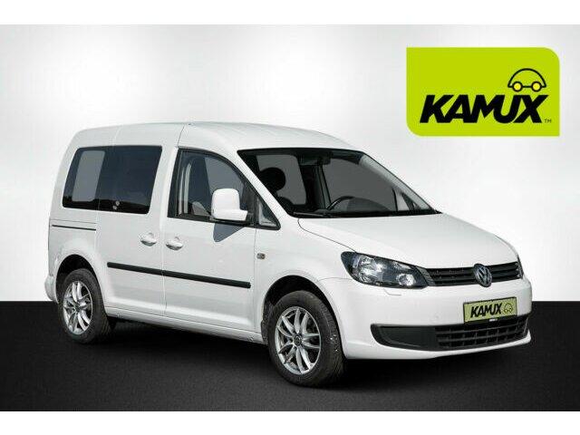 Volkswagen Caddy 1.6 TDI Trendline +Klima+PDC+AHK+Alufelgen, Jahr 2014, Diesel