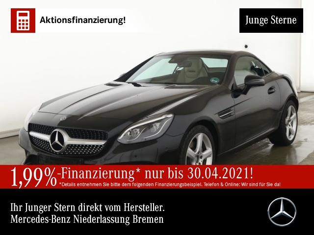 Mercedes-Benz SLC 200 Pano ILS Airscarf Totwinkel PTS Sitzheiz, Jahr 2020, Benzin
