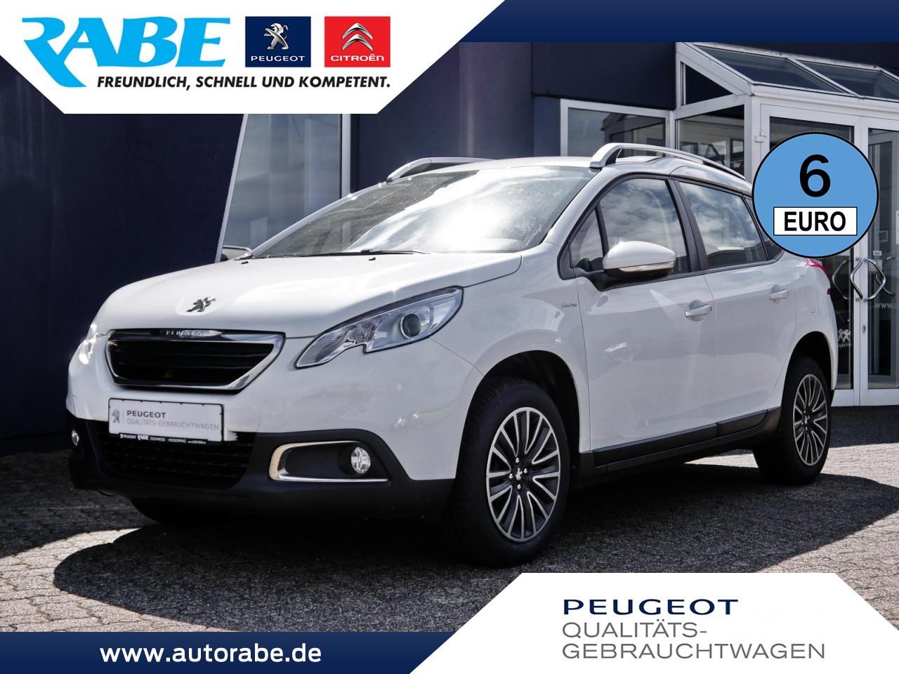 Peugeot 2008 Urban Move 110 PT Sitzhzg+Nebel+ParkPilot, Jahr 2016, Benzin