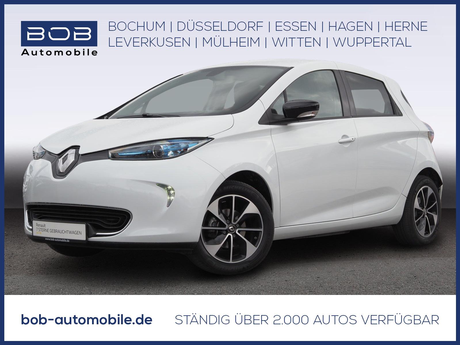 Renault ZOE Intens NAVI PDC KLIMA LM RFK BT USB, Jahr 2018, Elektro