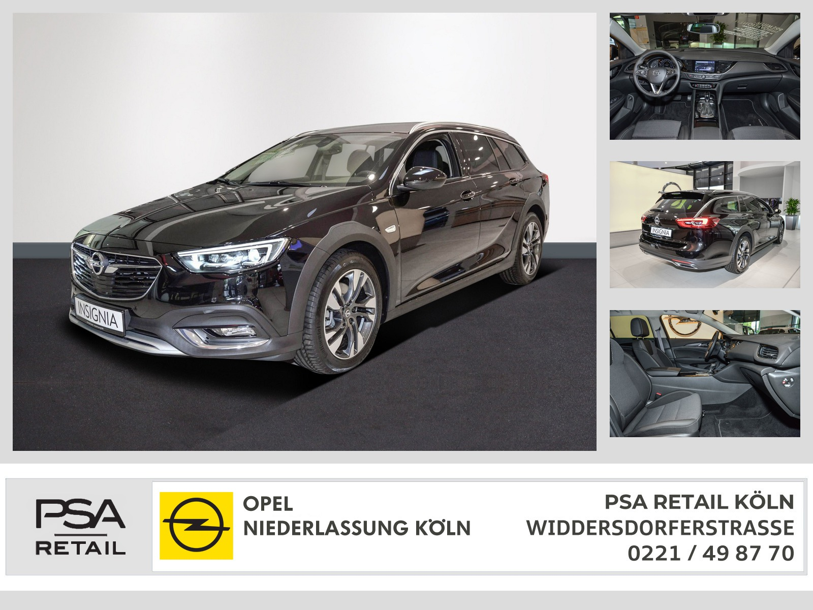 Opel Insignia CT 2.0 AT ACC Navi Innovations-Paket, Jahr 2020, Diesel