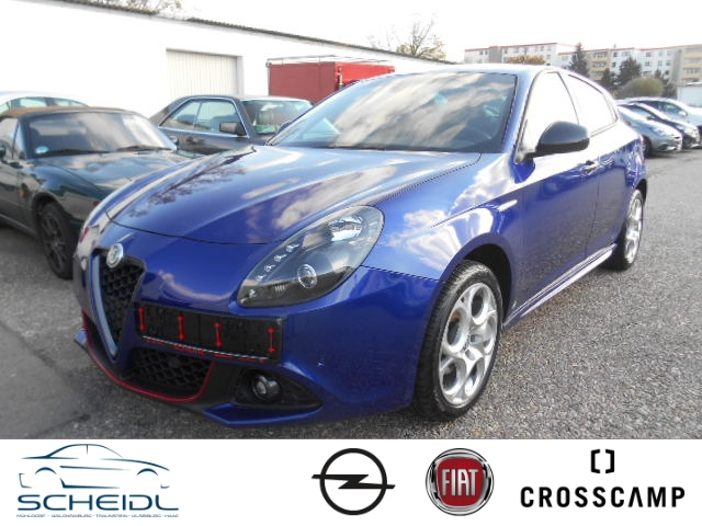 Alfa Romeo Giulietta Super 1.4 TB 16V Navi Dyn. Kurvenlicht PDCv+h LED-Tagfahrlicht Multif.Lenkrad, Jahr 2017, Benzin