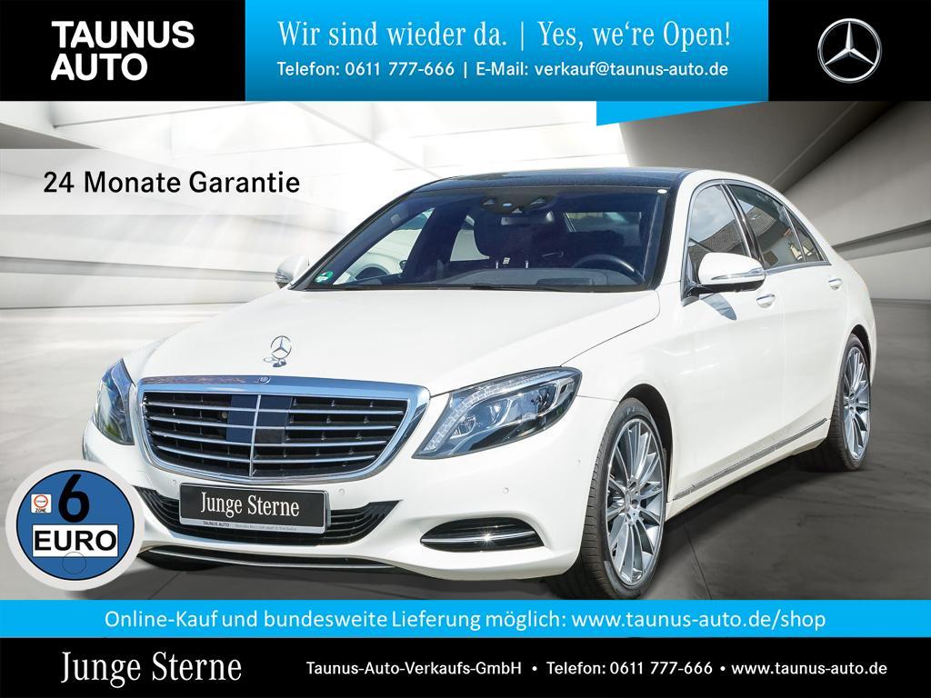 Mercedes-Benz S 500 4M L COMAND PANO SITZKLIMA HUD AHK BURMEST, Jahr 2015, Benzin