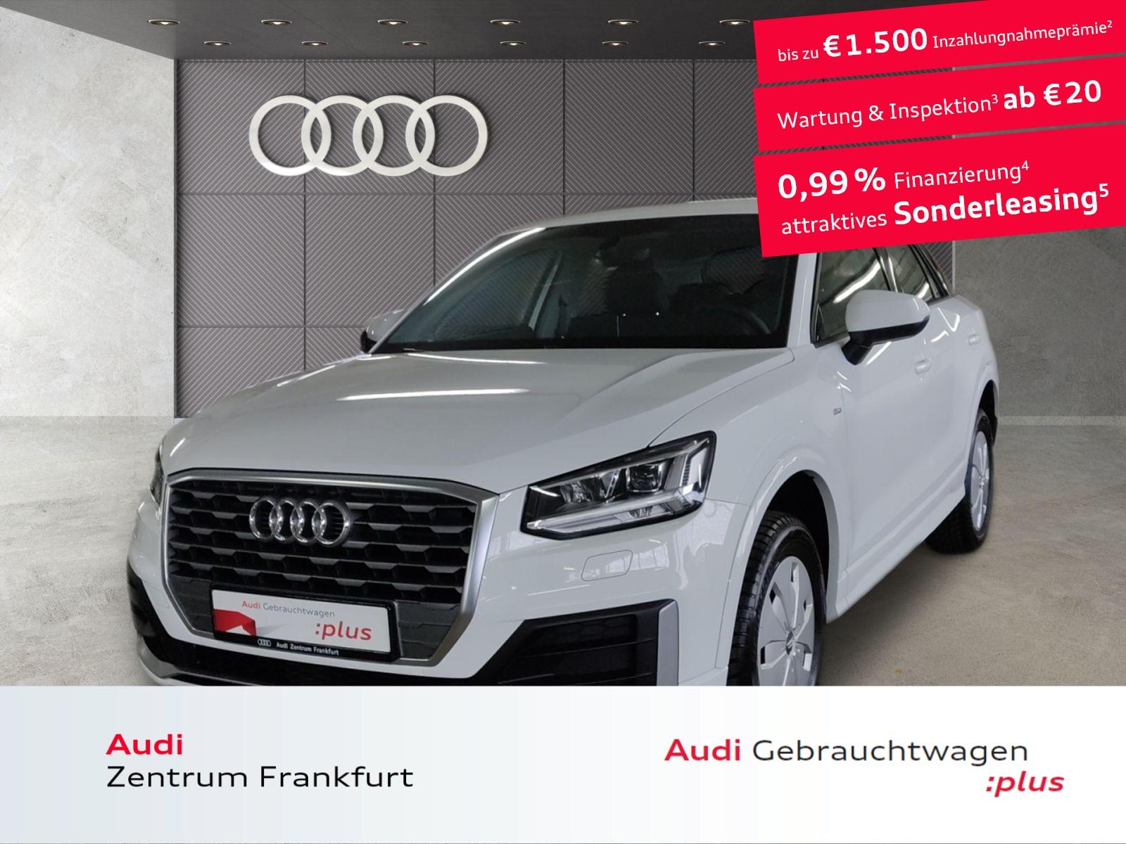 Audi Q2 35 TFSI S tronic design S line AHK LED Navi DAB PDC, Jahr 2020, Benzin