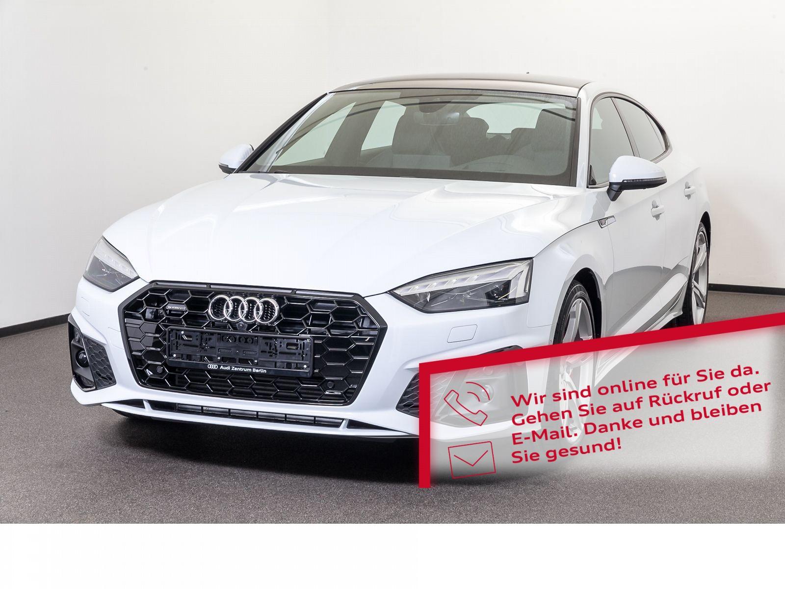 Audi A5 Sportback S line 45 TFSI quattro S tronic, Jahr 2020, Benzin