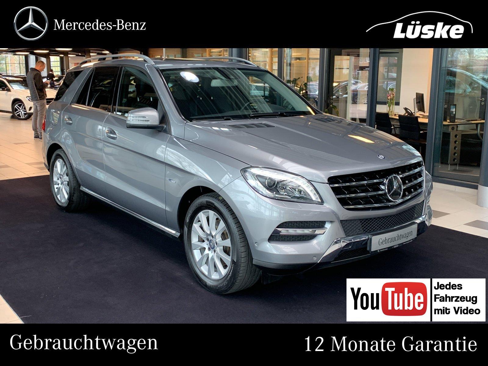 Mercedes-Benz ML 250 BT 4M AHK COMAND Schiebedach DISTRONIC, Jahr 2012, Diesel