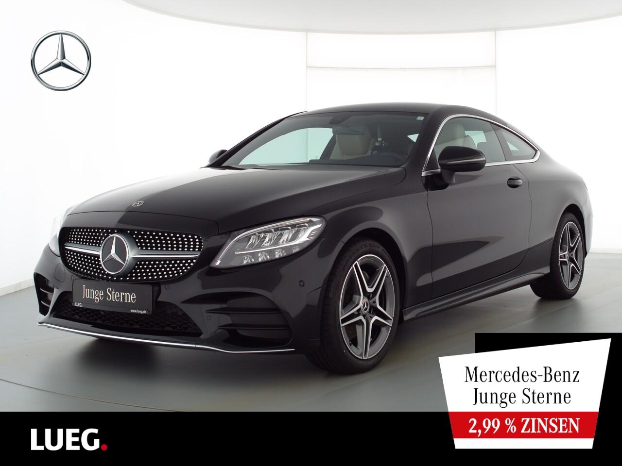 Mercedes-Benz C 180 Coupe AMG+Navi+LED-HP+CarPl+ParkAss+Kamera, Jahr 2020, Benzin
