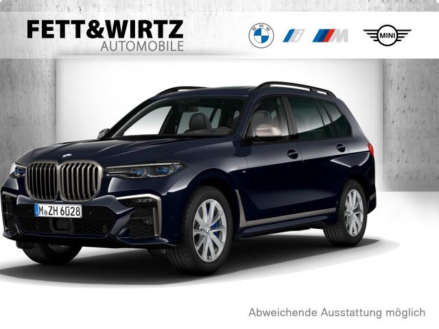 BMW X7 M50d Standhzg. SkyLounge AHK HUD H/K, Jahr 2020, Diesel