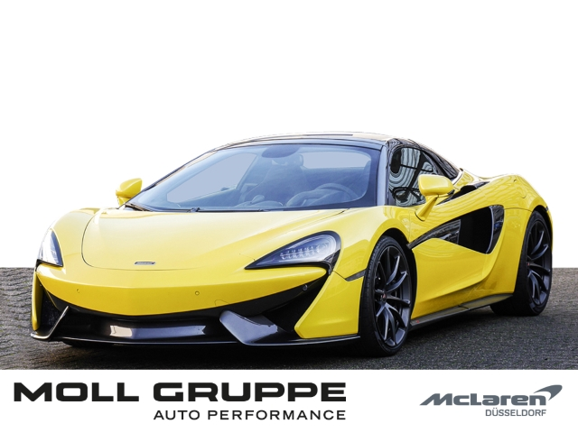 McLaren 570S Spider MY18 Sicilian Yellow, Vehicle Lift, Jahr 2017, Benzin