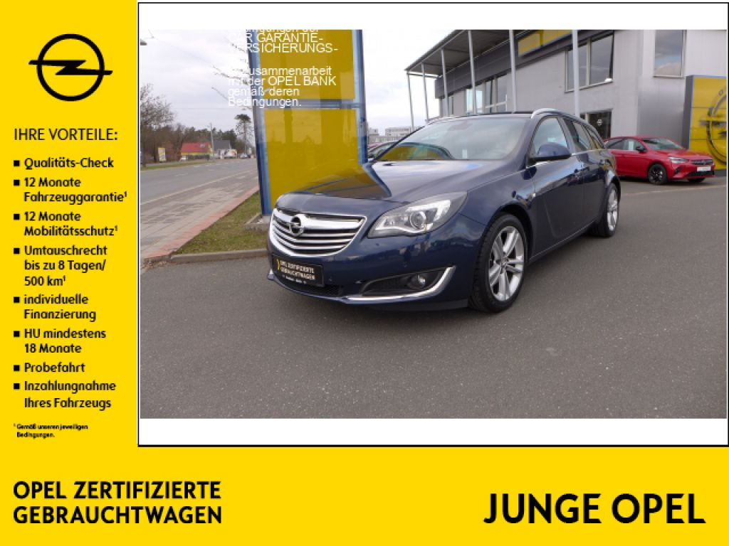 Opel Insignia 2.0 CDTI Sports Tourer ecoFLEXStart/Stop Business Innovation, Jahr 2014, Diesel