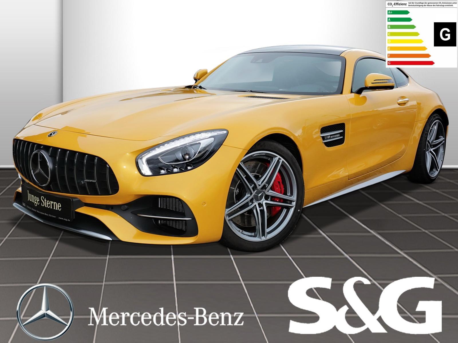 Mercedes-Benz AMG GT C Rü.Kam./Distronic/PanoDach/Parktronic/, Jahr 2018, Benzin