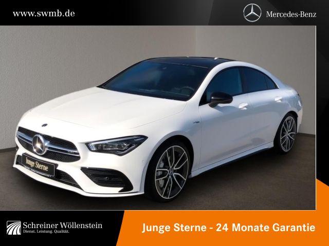 Mercedes-Benz CLA 35 AMG 4M Coupé AMG Aerodyn.P*Pano*NightP*19, Jahr 2020, Benzin