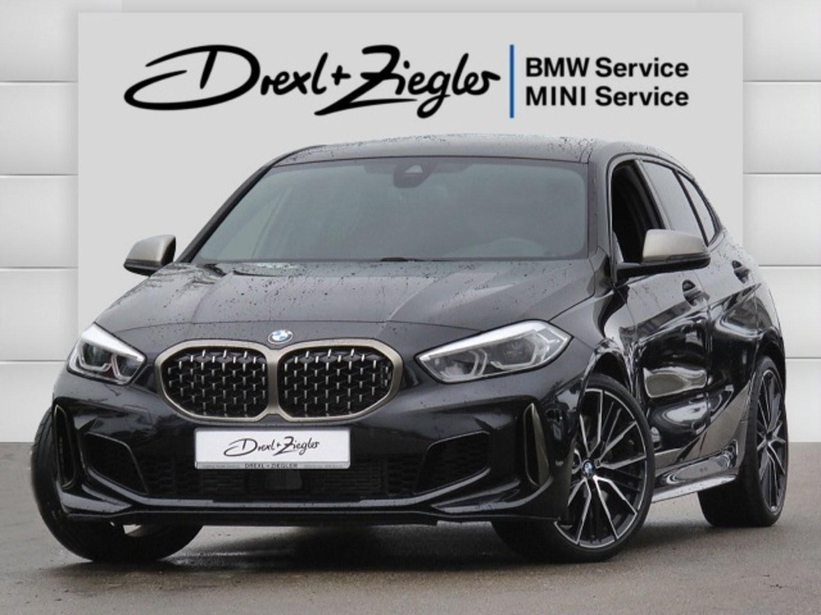 BMW M135i xDrive Leder HUD DAB H&K MSitze LiveCoProf, Jahr 2020, Benzin
