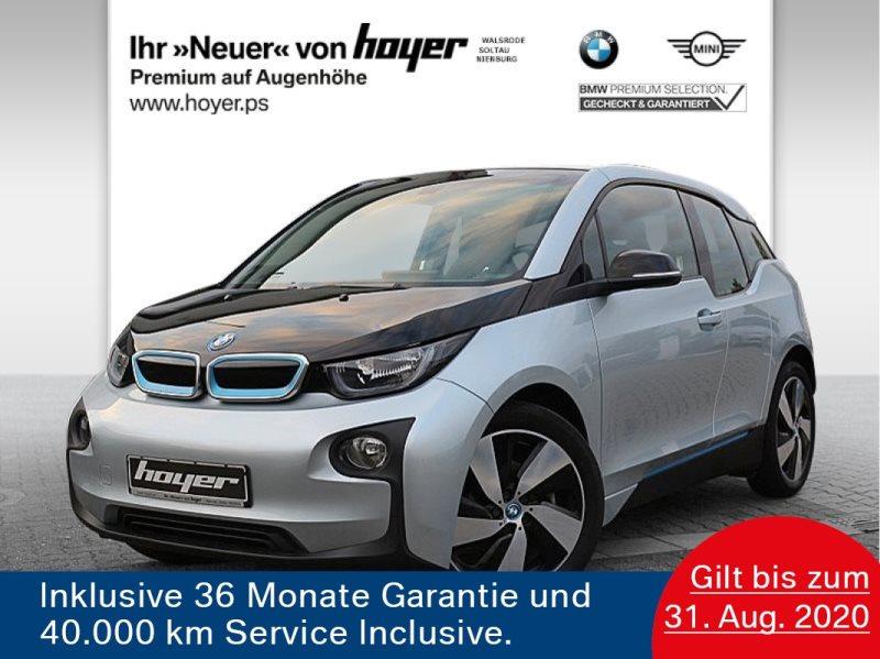 BMW i3 .94Ah UPE 45.621,-€ Navi Prof. Tempomat Klimaaut. Shz PDC, Jahr 2017, Elektro