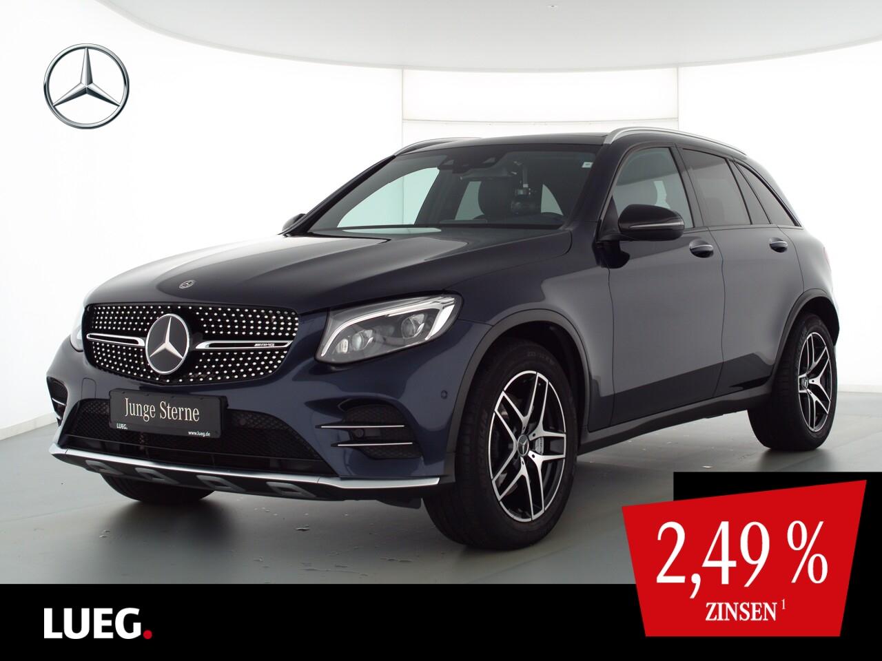 Mercedes-Benz GLC 43 AMG 4M COM+Pano+Burm+LED+Distr+Memory+RFK, Jahr 2018, Benzin