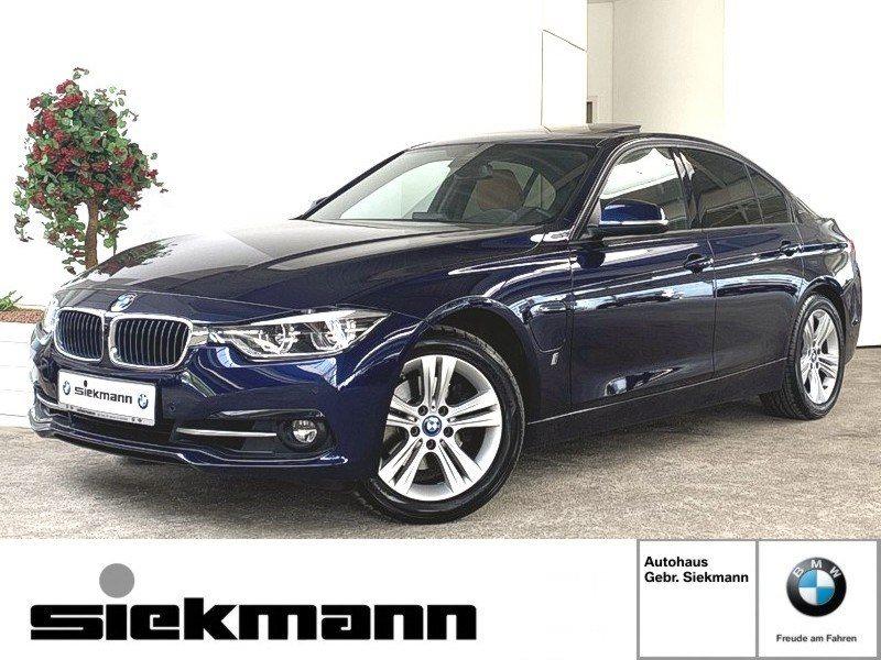 BMW 330e iPerformance adapt. LED RFK Navi Lenkr.heiz., Jahr 2017, Hybrid