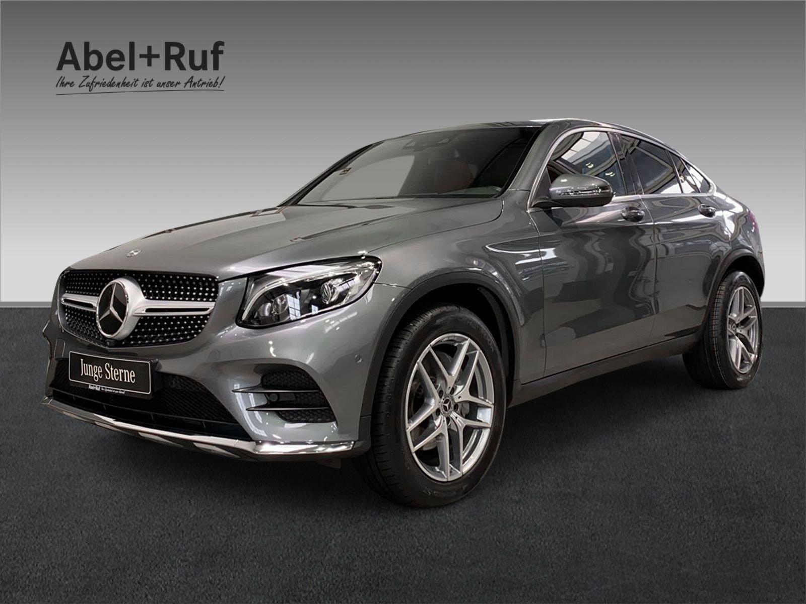 Mercedes-Benz GLC 300 C 4M+AMG+DISTRONIC+Navi+SHZ+SHD+LED+360°, Jahr 2017, Benzin