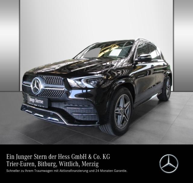 Mercedes-Benz GLE 450 4M AMG Distr AugREAL Mbeam Pano AHK Kam, Jahr 2020, Benzin