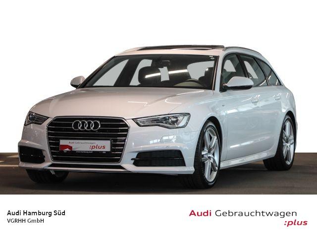 Audi A6 Avant 2.0 TDI S tronic S LINE/NAVI/PANO/STDHZG/LM19, Jahr 2017, Diesel