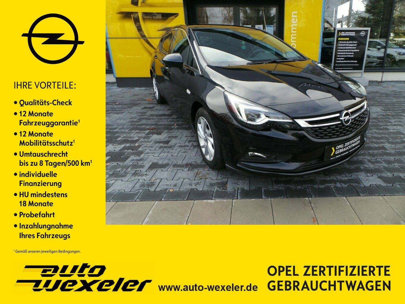 Opel Astra K AT INNOVATION,Schiebeda.,Matrix-LED,Leder, Jahr 2019, Benzin